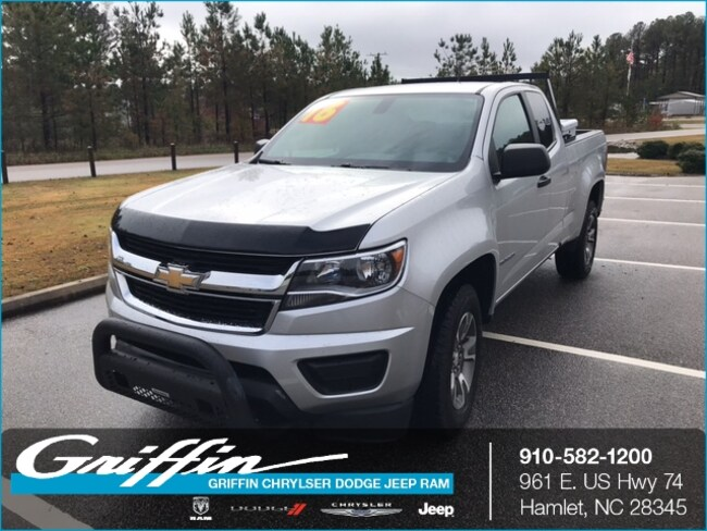Used 2016 Chevrolet Colorado Wt For Sale Rockingham Nc