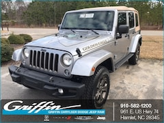 2018 Jeep Wrangler JK UNLIMITED GOLDEN EAGLE 4X4 Sport Utility Rockingham