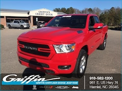 2019 Ram 1500 BIG HORN / LONE STAR QUAD CAB 4X2 6'4 BOX Quad Cab Rockingham