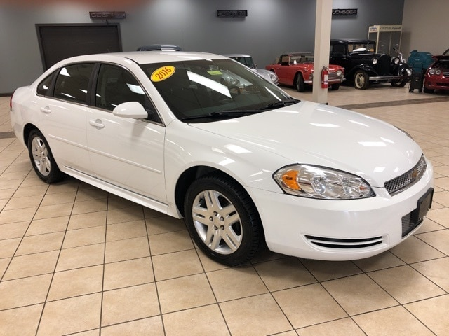 Used Used 2016 Chevrolet Impala Limited Near Erie For Sale Meadville Pa Serving Franklin Edinboro 2g1wb5e34g1146705