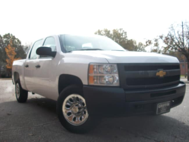 2013 Chevrolet Silverado 1500 WT Truck Crew Cab