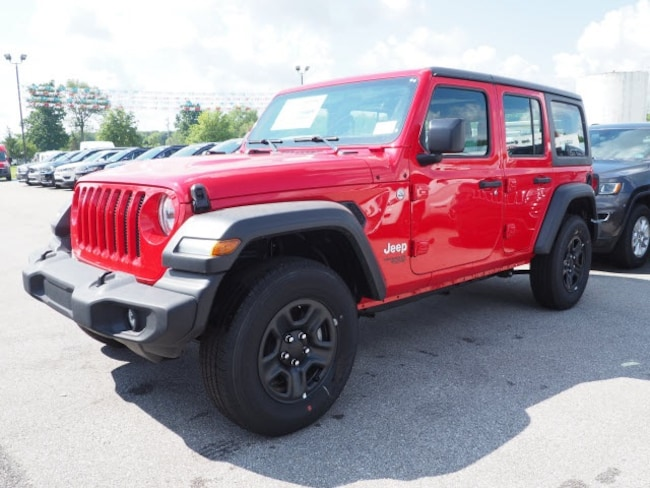 New 2018 Jeep Wrangler UNLIMITED SPORT 4X4 Sport Utility for sale in Meadville, PA