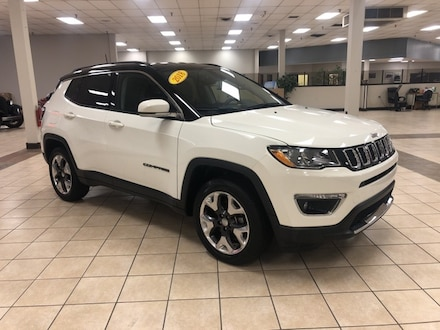 2018 Jeep Compass Limited SUV  Sport Utility 4WD