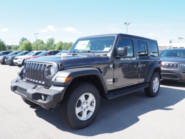 New 2018 Jeep Wrangler UNLIMITED SPORT S 4X4 Sport Utility for sale in Meadville, PA
