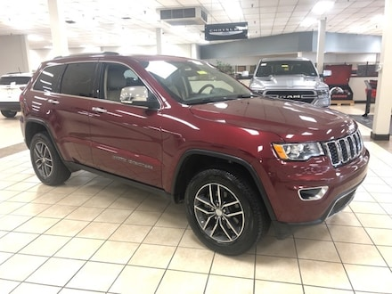 2018 Jeep Grand Cherokee Limited SUV  Sport Utility 4WD