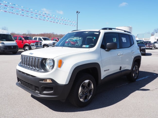 New 2018 Jeep Renegade SPORT 4X4 Sport Utility for sale in Meadville, PA