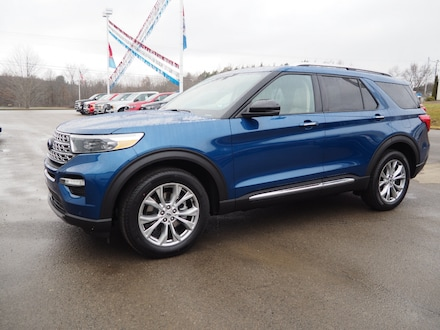 Featured new  2021 Ford Explorer Limited SUV for sale in Seneca, PA