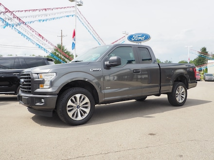 Featured used 2017 Ford F-150 Extended Cab Short Bed Truck for sale in Seneca, PA