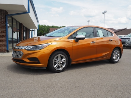 Featured used 2017 Chevrolet Cruze LT Hatchback for sale in Seneca, PA