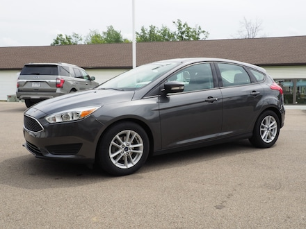 Featured used 2017 Ford Focus SE Hatchback for sale in Seneca, PA