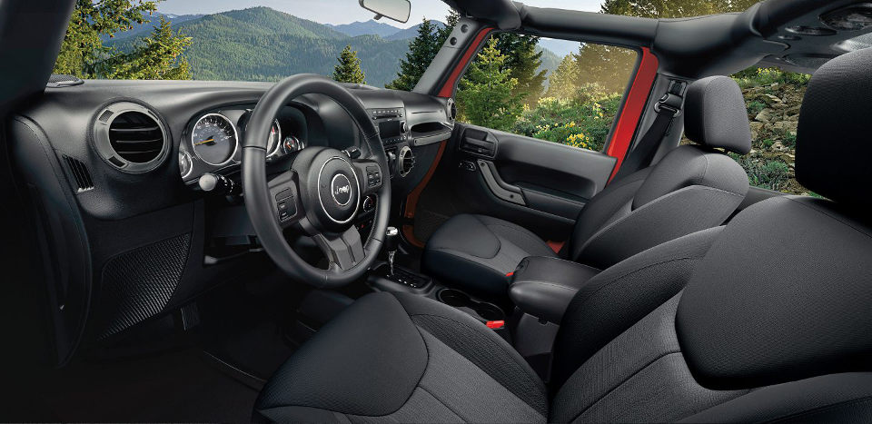 Interior image of 2017 Jeep