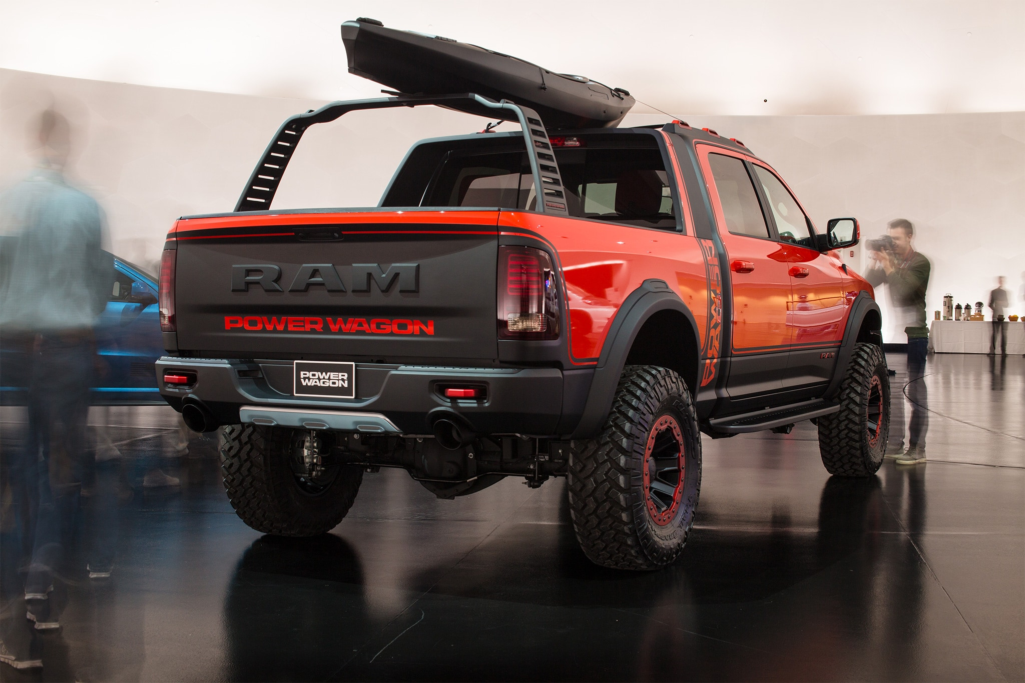 Ram Macho Power Wagon Concept Unveiled Griffin S Hub Chrysler Jeep