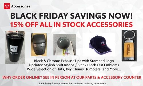 Black Friday Savings Now!!!