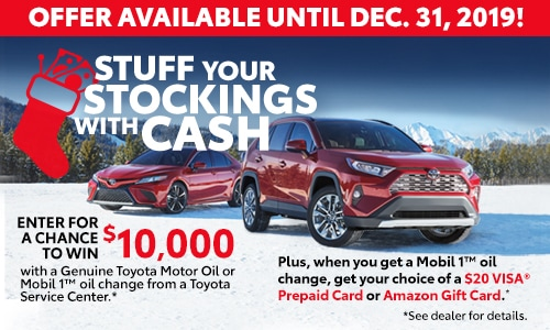 Stuff Your Stockings with Cash!