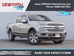 2018 Ford F-150 King Ranch 4x4 SuperCrew Cab Styleside 5.5 ft. box Truck
