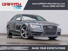 2013 Audi S8 4.0T All-wheel Drive quattro Sedan