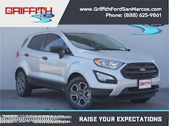 2018 Ford EcoSport S Front-wheel Drive Crossover