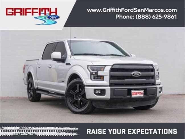 2015 Ford F-150 Lariat 4x2 SuperCrew Cab Styleside 5.5 ft. box 145