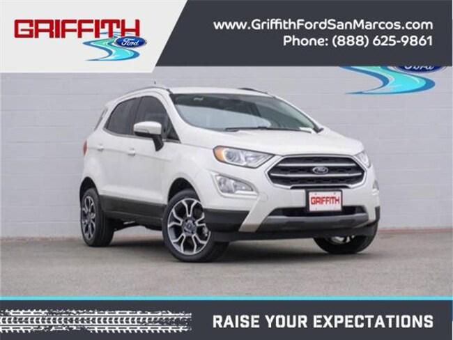2018 Ford EcoSport Titanium 4x4 Crossover
