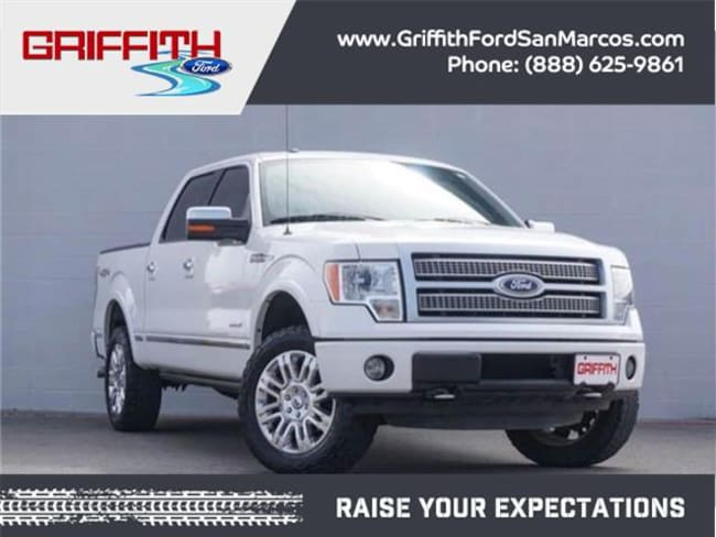 2012 Ford F-150 Platinum 4x4 SuperCrew Cab Styleside 5.5 ft. box 1