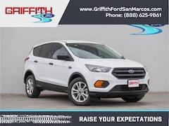 2019 Ford Escape S Front-wheel Drive SUV