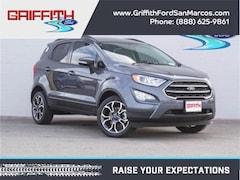 2018 Ford EcoSport SE Front-wheel Drive Crossover