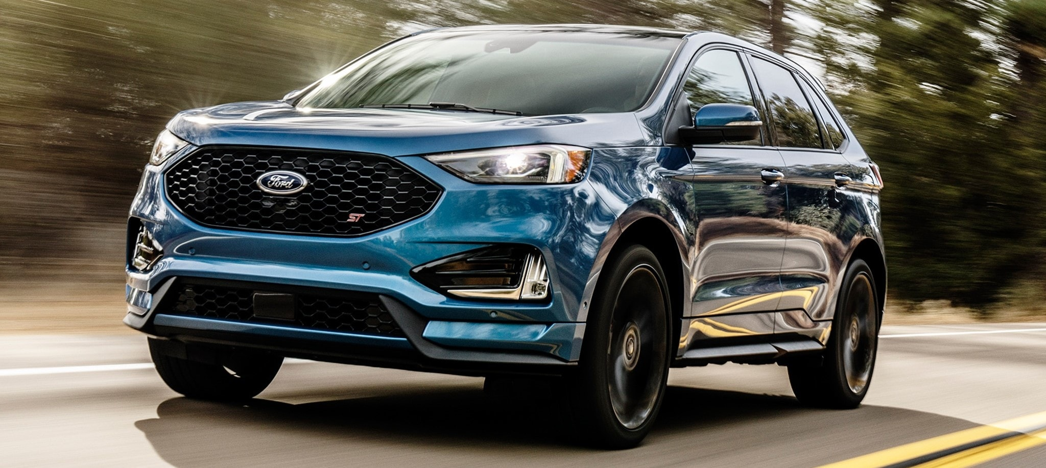 Blue 2019 Ford Escape ST