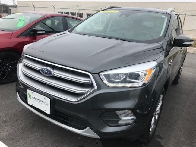 2017 Ford Escape TITANIUM 4WD | LEATHER | NAV | ROOF SUV