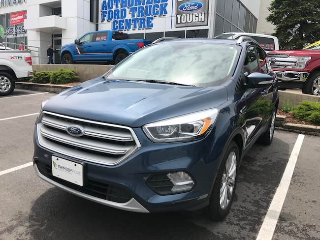 2018 Ford Escape TITANIUM 4WD | LEATHER | NAV | ROOF SUV