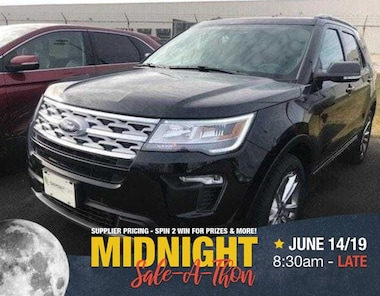2019 Ford Explorer XLT 4WD | LEATHER | NAV | ROOF | TOW PKG SUV