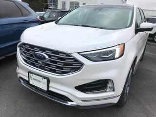 2019 Ford Edge TITANIUM AWD | LEATHER | NAV | ROOF | ADPAT CRUISE SUV