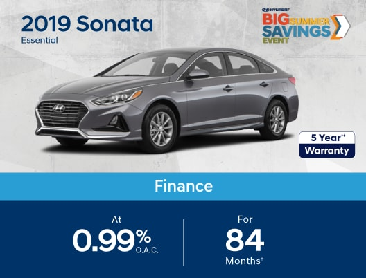2019 Sonata Special Offers