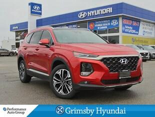 2019 Hyundai Santa Fe ULTIMATE 2.0 / DARK CHROME ACCENTS / DEMO UNIT SUV