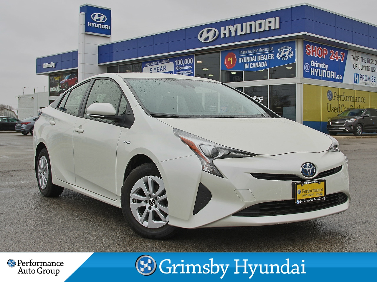 2017 Toyota Prius BACK-UP CAMERA / ONE OWNER / PUSH BUTTON START   Hatchback