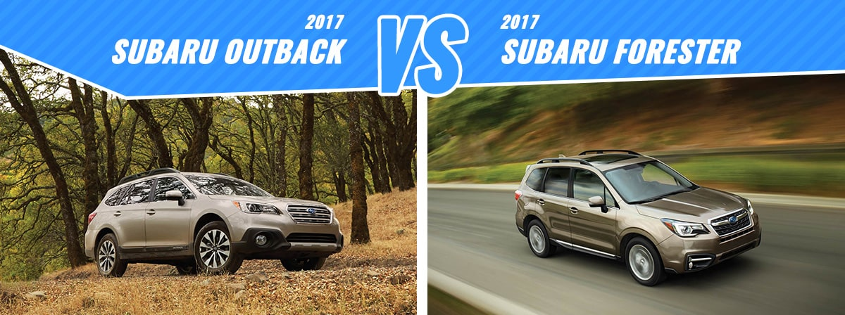 New Subaru Outback Vs Forester Englewood Co