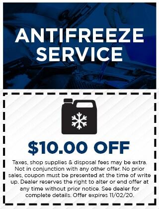 Antifreeze Service