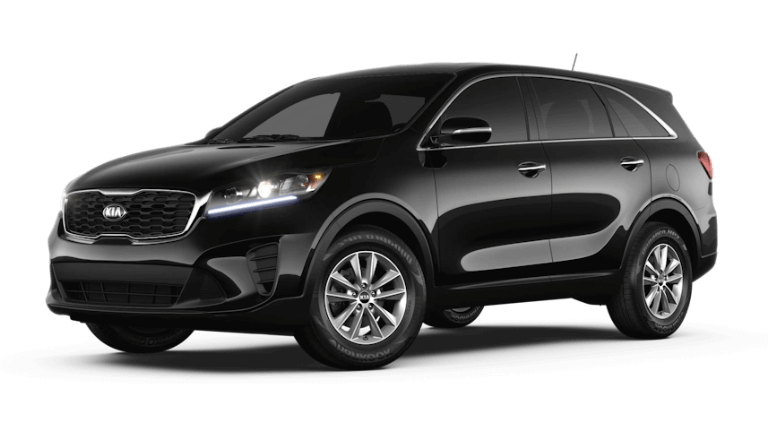 2020 Kia Sorento L in Ebony Black