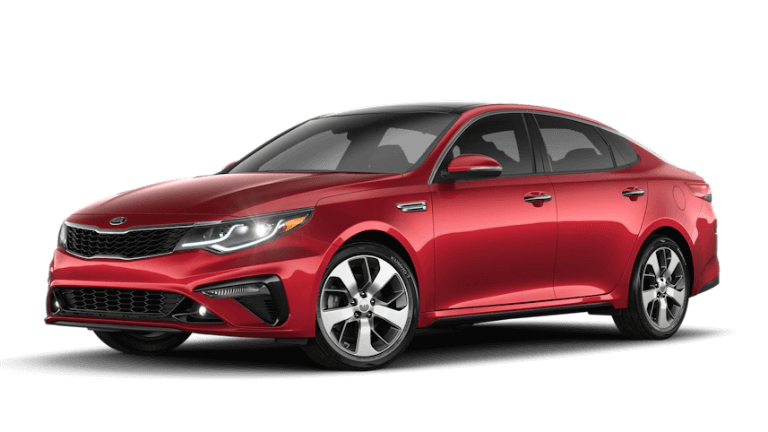 2020 Kia Optima S in PassionRed