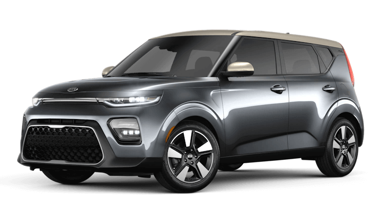 2020 Kia Soul EX in Gravity Gray Platinum Gold