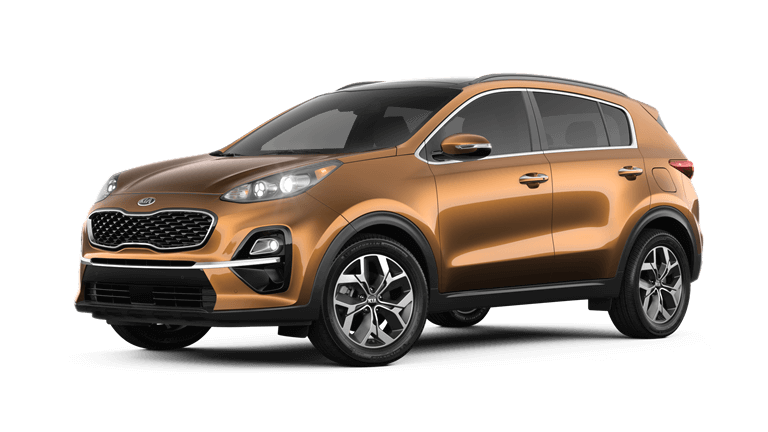 2020 Kia Sportage EX in Burnished Copper