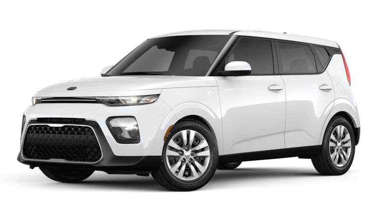 2020 Kia Soul LX in Snow White Pearl