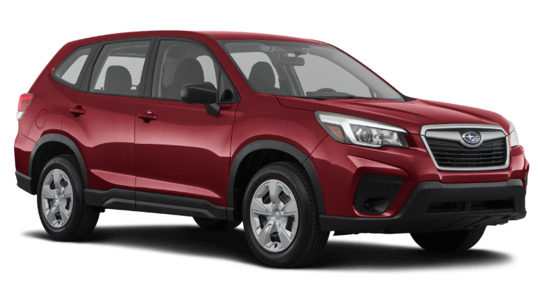 2020 Subaru Forester Base - Crimson Red