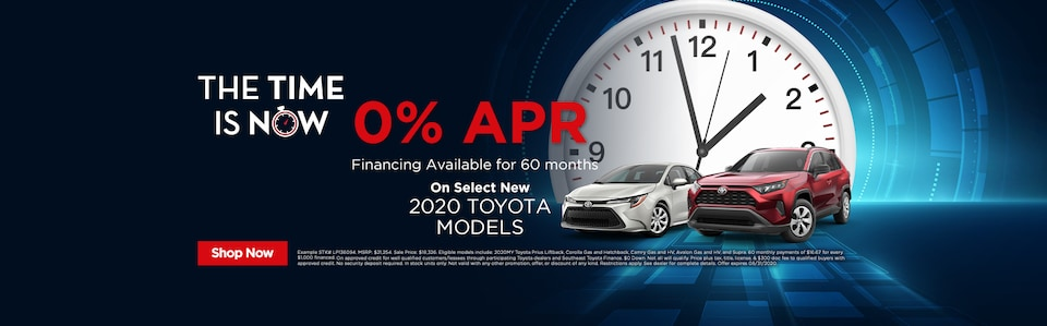 0% APR Financing Available for 60 months