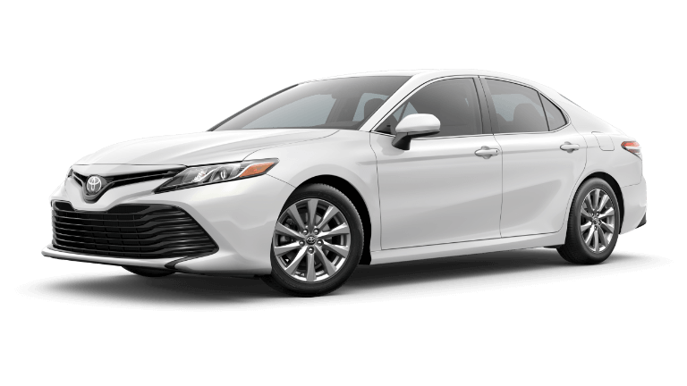 2020 Toyota Camry LE in Super White