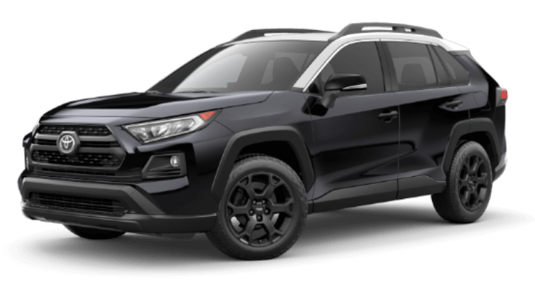 2020 Toyota RAV4 TRD Off-Road in Midnight Black Ice Edge