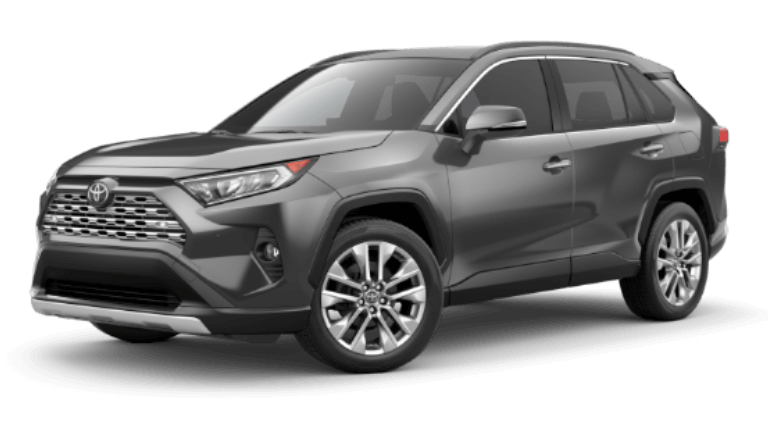 2020 Toyota RAV4 Limited in Magnetic Gray