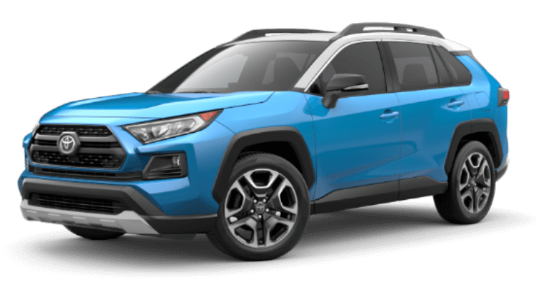 2020 Toyota RAV4 Adenture in Blue Flame