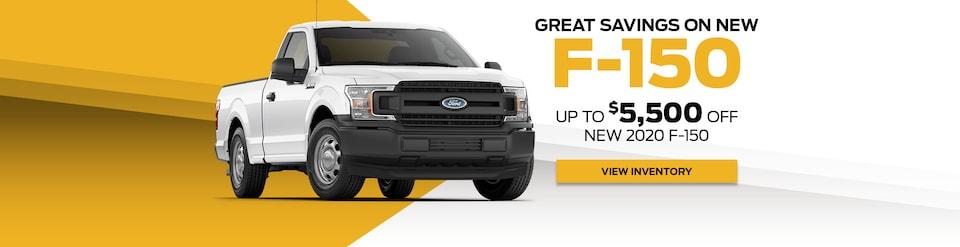 Great Savings on New F-150