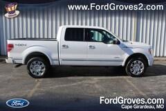 2012 Ford F-150 4WD Platinum Supercrew Truck SuperCrew Cab