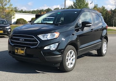 Used 2019 Ford EcoSport SE SUV For Sale in Middlebury, VT